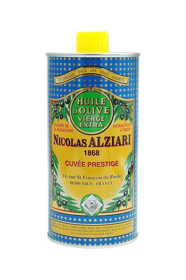 OLIVE OIL NICOLAS ALZIARI CUVÉE PRESTIGE 500 ML
