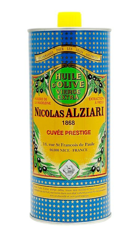 OLIVE OIL NICOLAS ALZIARI CUVÉE PRESTIGE  1 L