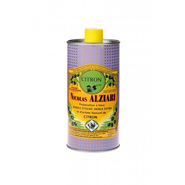 LEMON - Food preparation based on olive oil and natural aroma of LEMON 500 ML
