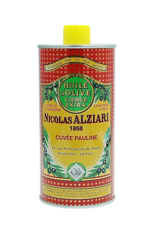 OLIVE OIL NICOLAS ALZIARI CUVÉE PAULINE 500 ML