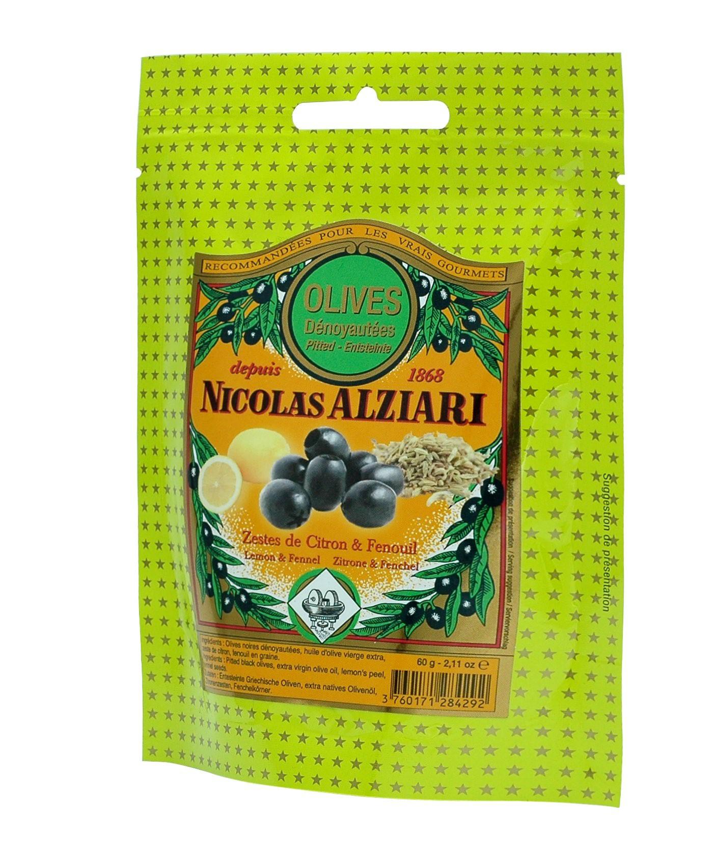 Olives Lemon Fennel 60 g