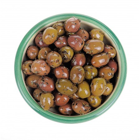 Olives with herbs from Provence 125 gr