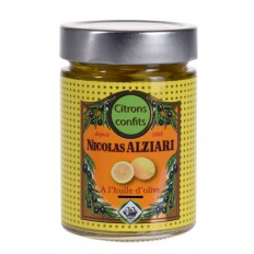Lemons confit with olive oil 300 gr