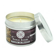 Mint leaf perfumed candle 85gr