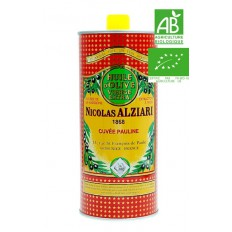 OLIVE OIL NICOLAS ALZIARI CUVÉE PAULINE 1 L - Organic*