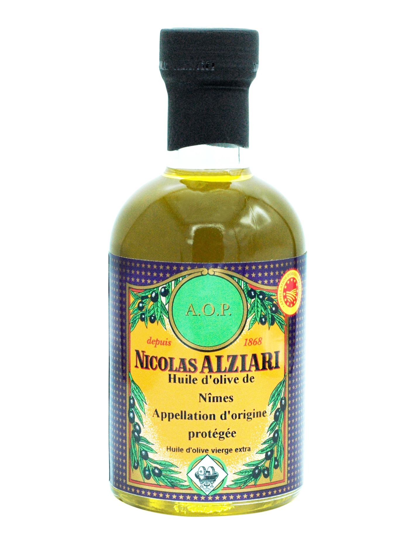 PDO Nîmes Olive oil  200 ML (Protected Designation of Origin)