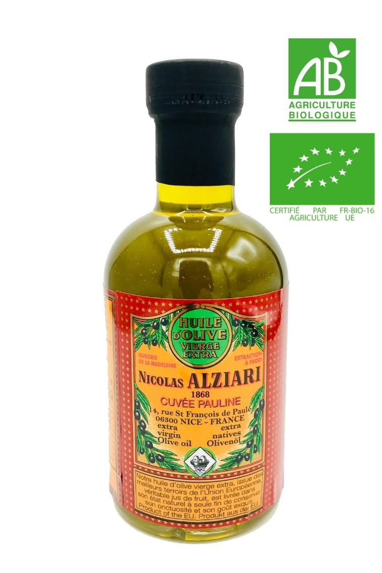 OLIVE OIL NICOLAS ALZIARI CUVÉE PAULINE 200 ML - Organic*