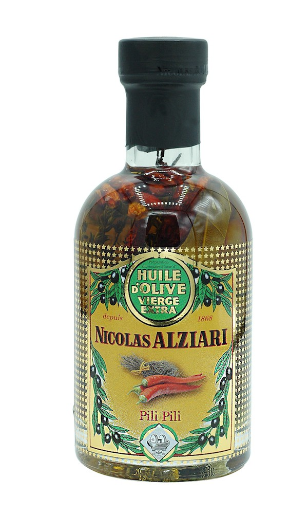 Olive oil Pili Pili for pizza and grills 200 ml