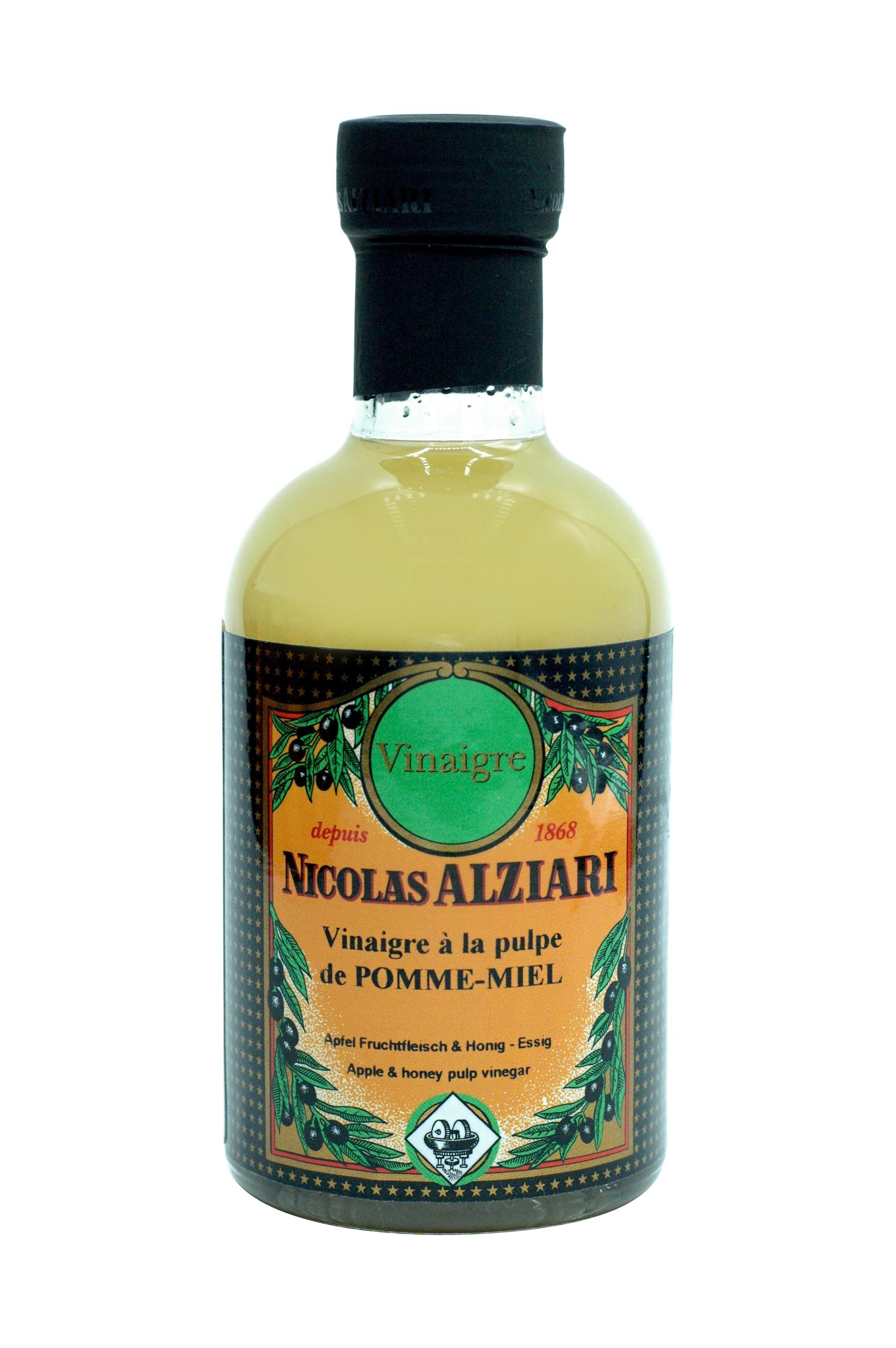 200 ml bottle apple & honey pulp vinegar