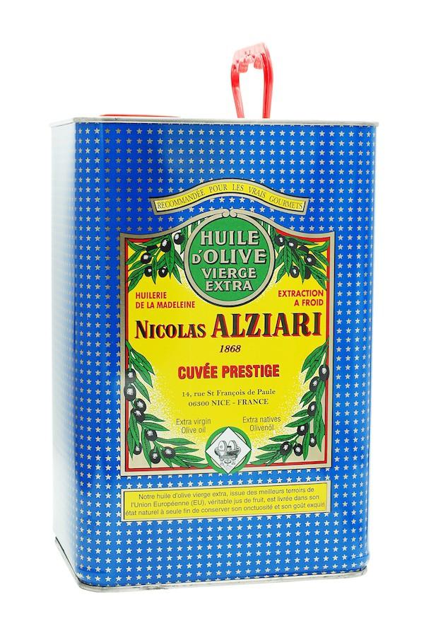 OLIVE OIL NICOLAS ALZIARI CUVÉE PRESTIGE 5 L