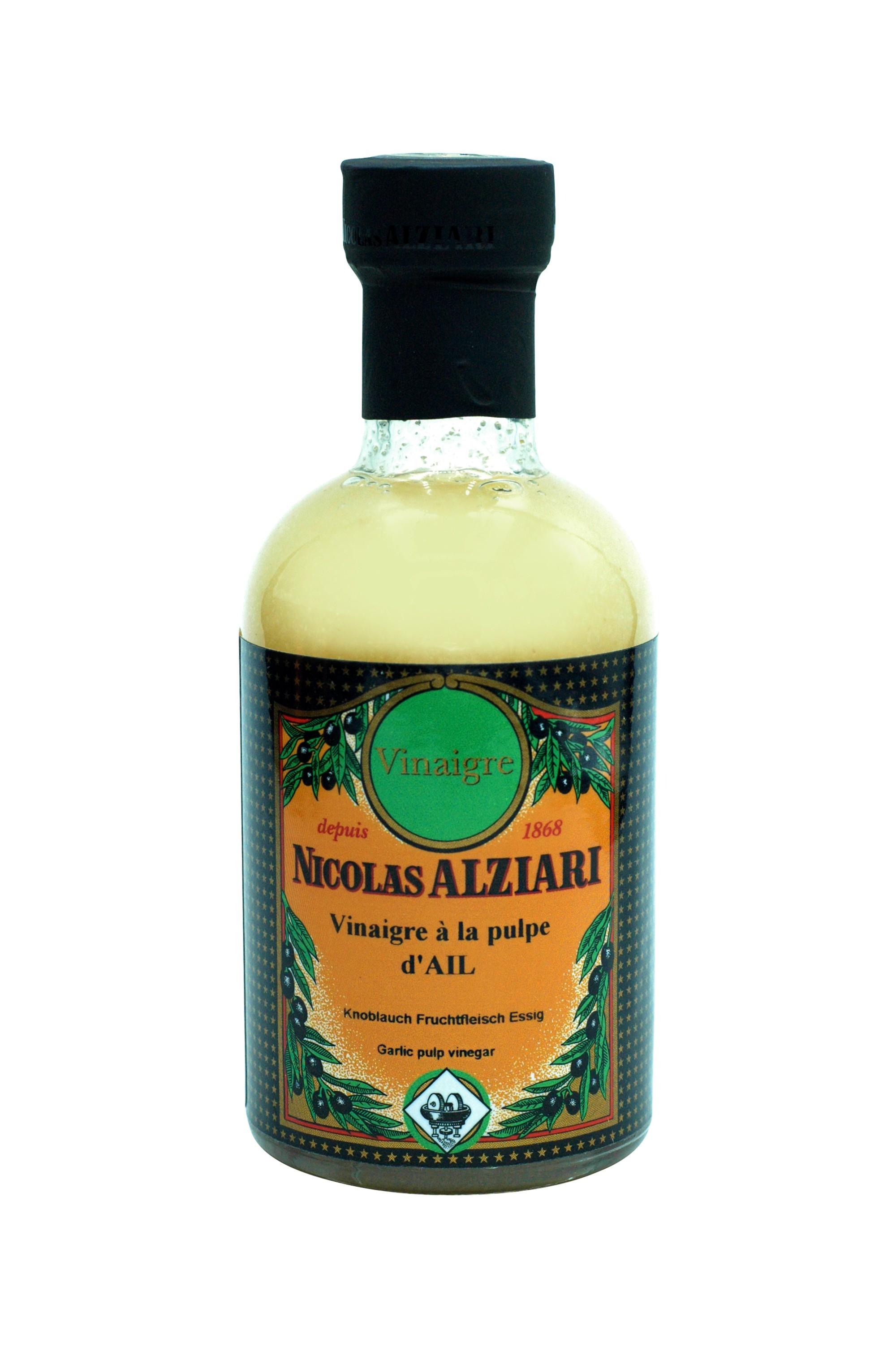 200 ml bottle garlic pulp vinegar