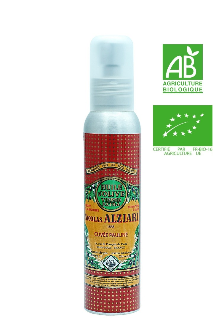 OLIVE OIL NICOLAS ALZIARI CUVÉE PAULINE 100 ML - Organic*