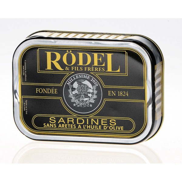 Sardines without bones 115 gr best selection