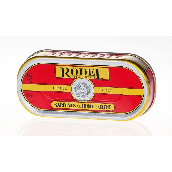 Sardine with olive oil 46gr - Rodel