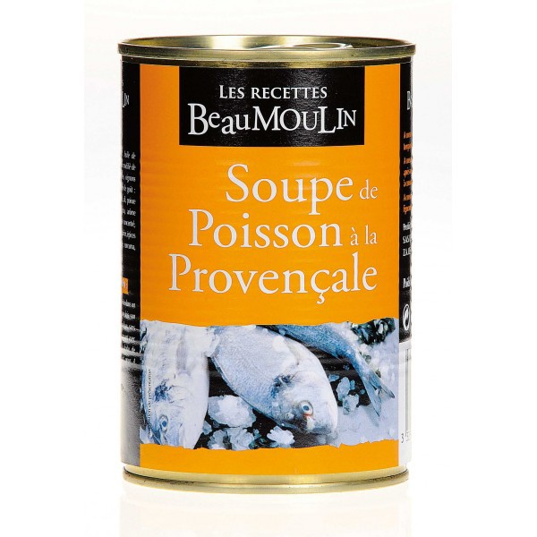 Fish soup Beaumoulin 400 gr