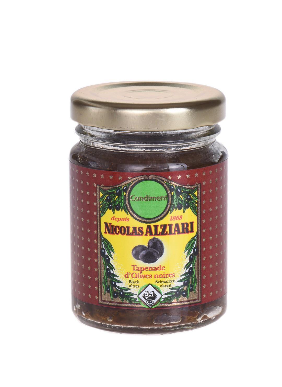 Tapenade of black olives 80 gr