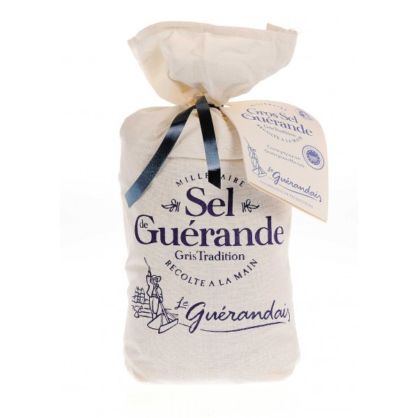 Sea salt of Guérande canvas 750 gr