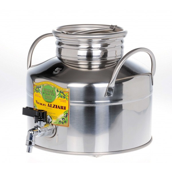 5 liter stainless steel barrel