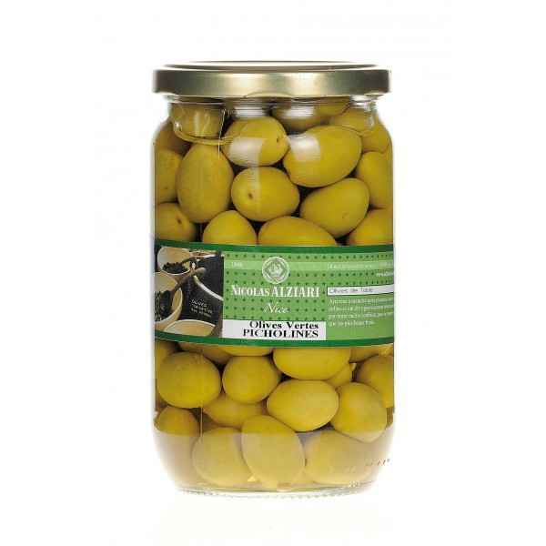 jar of Picholines olives 450g