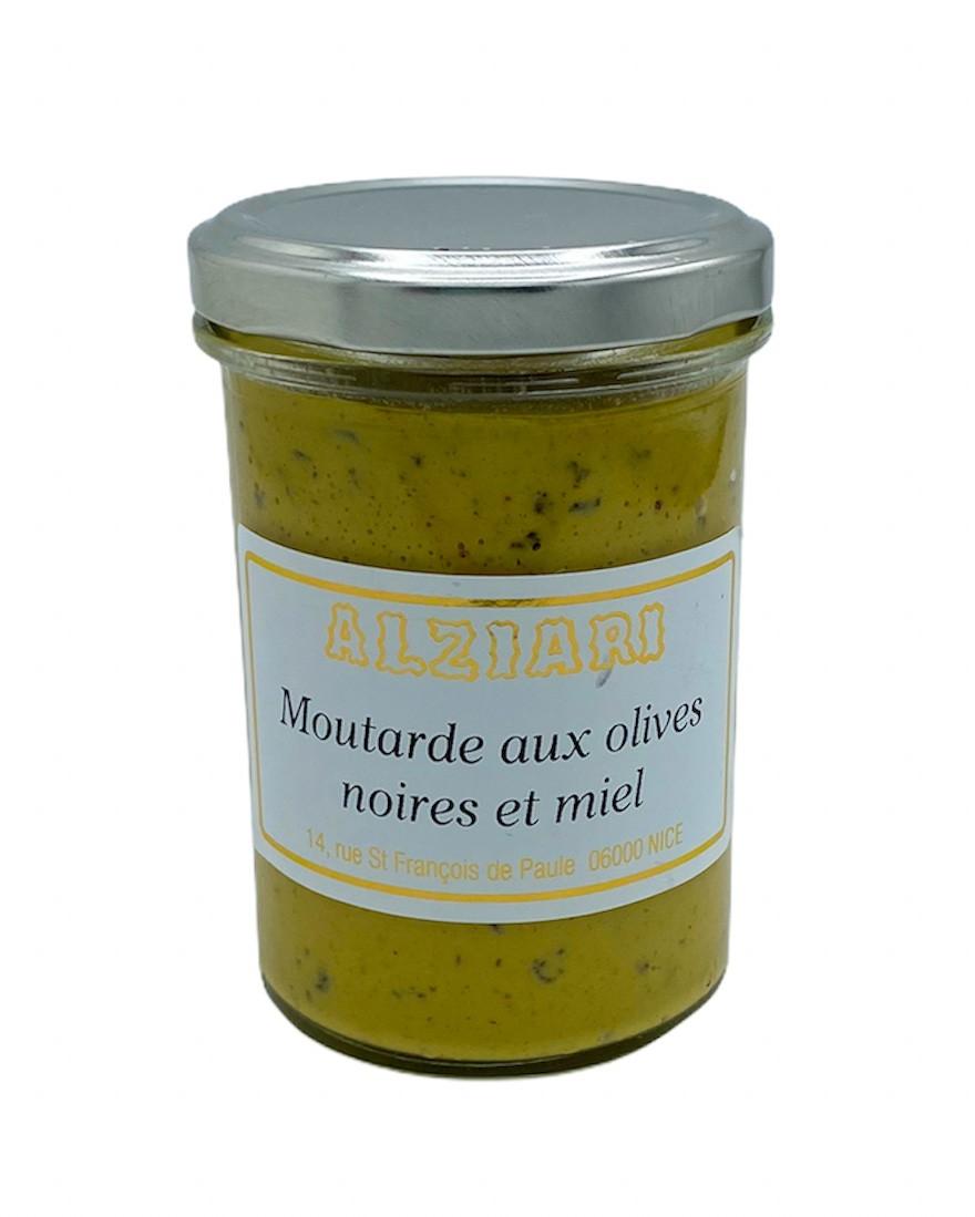 Mustard with black olives 200gr