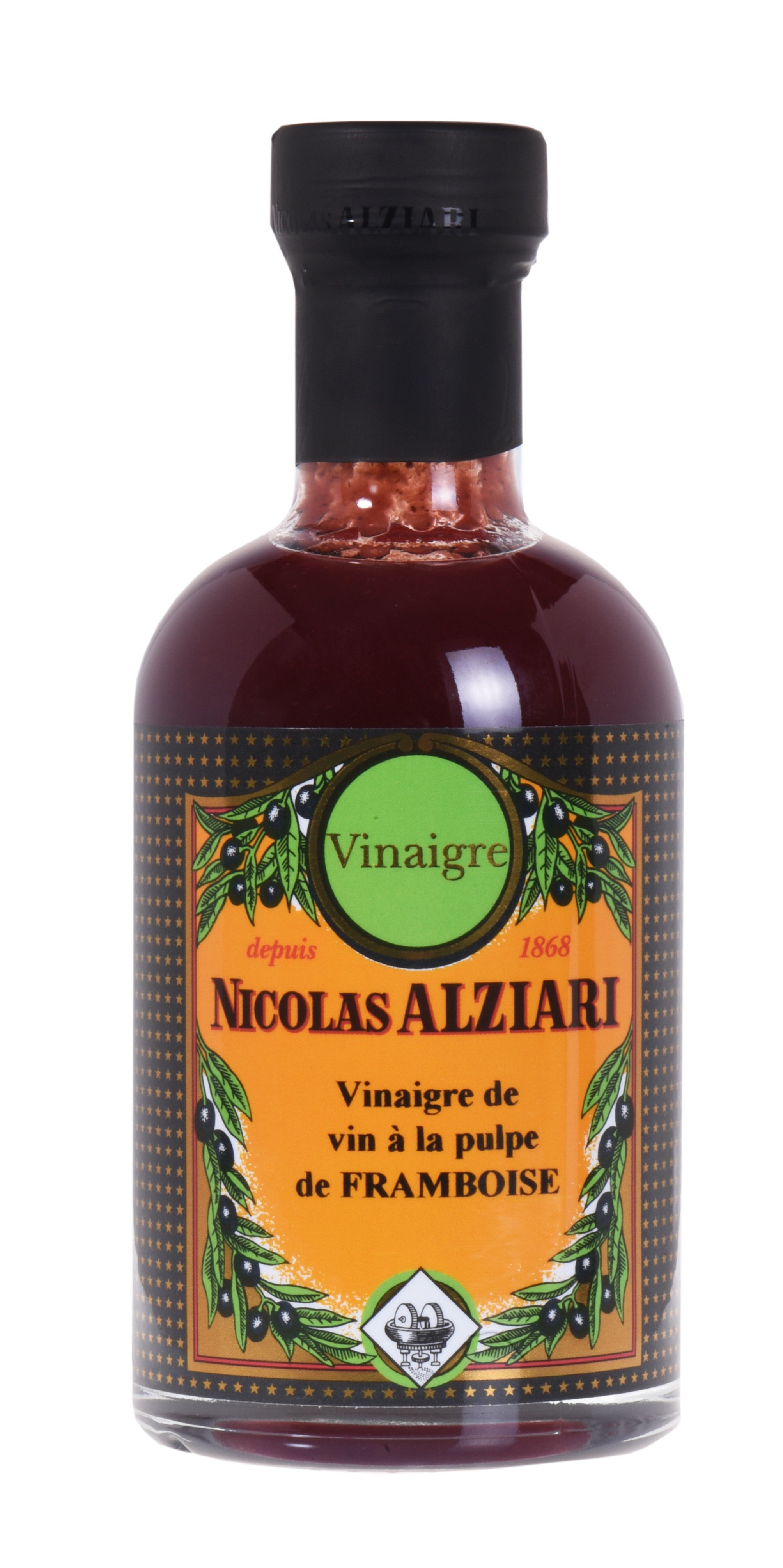 Raspberry pulp vinegar 200 ml