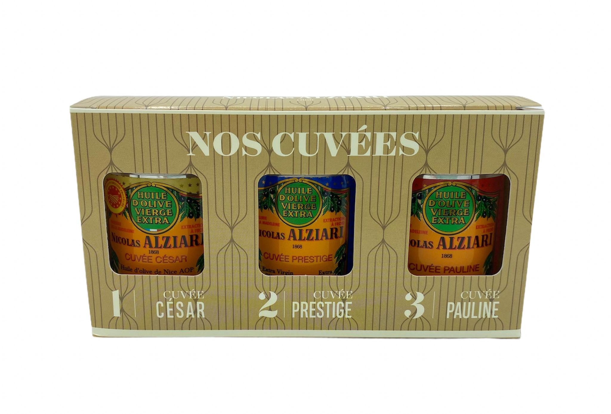 "Gift box ""Nos Cuvées"""