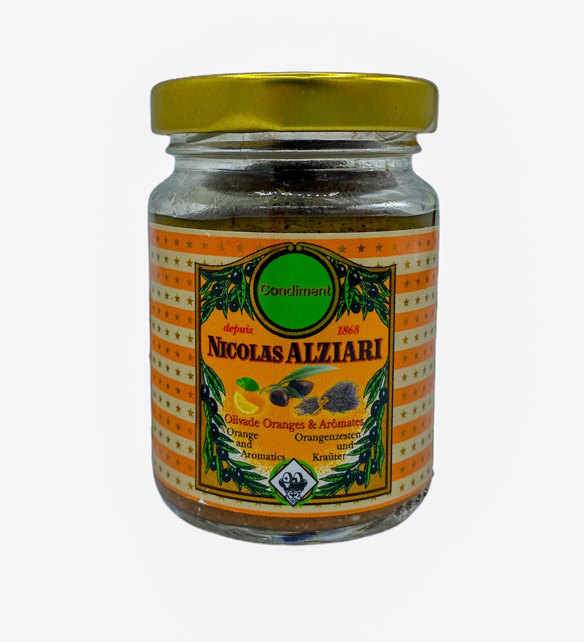Olivade orange and aromatics 80g