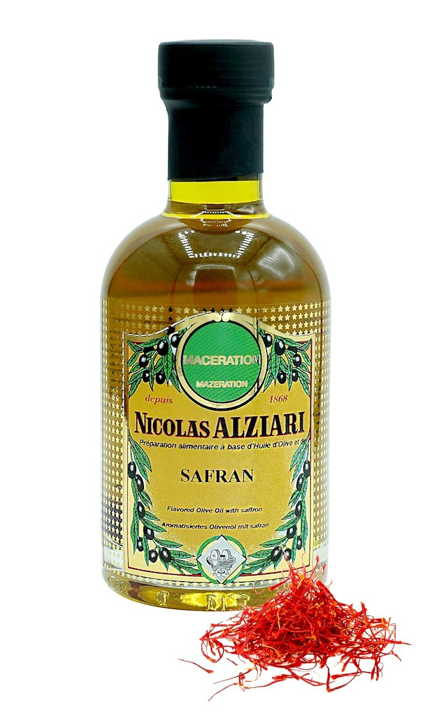olive oil with Saffron 200 ml