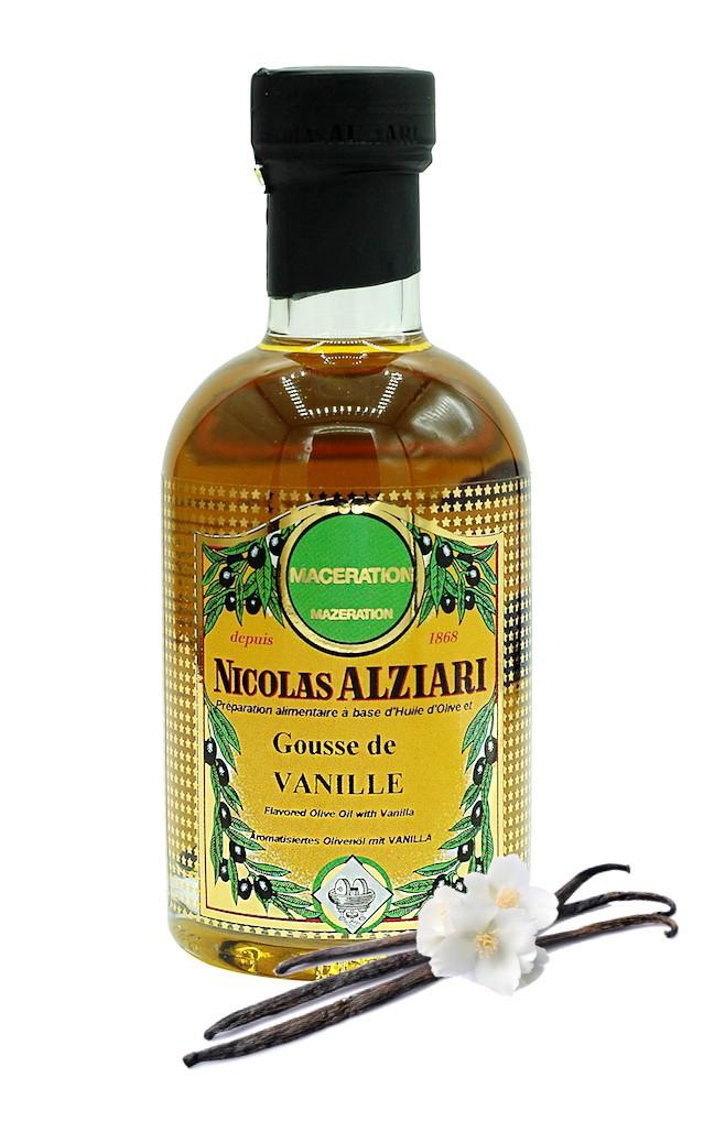 olive oil and Vanilla 200 ml