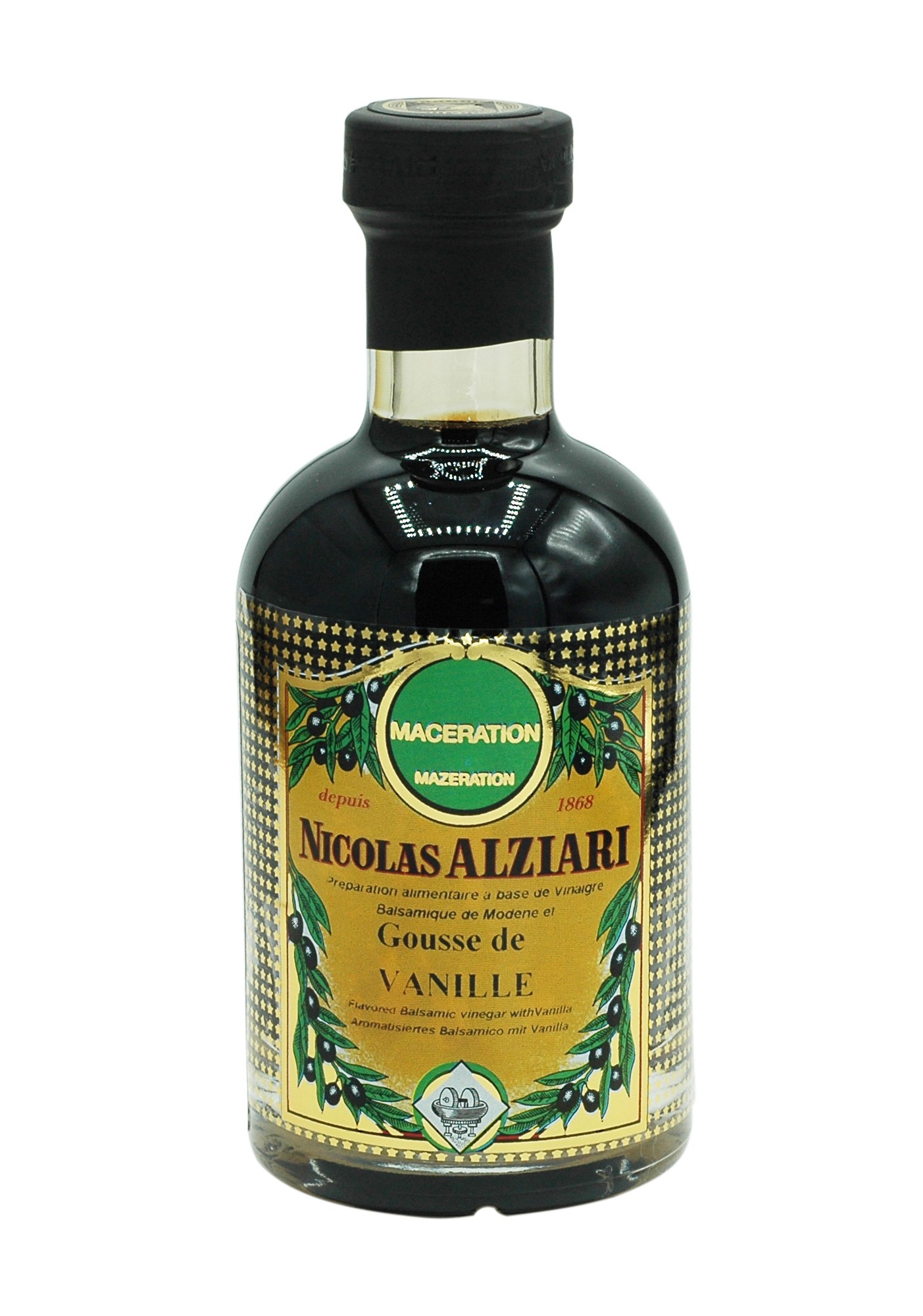 Balsamic vinegar with vanilla 200 ml