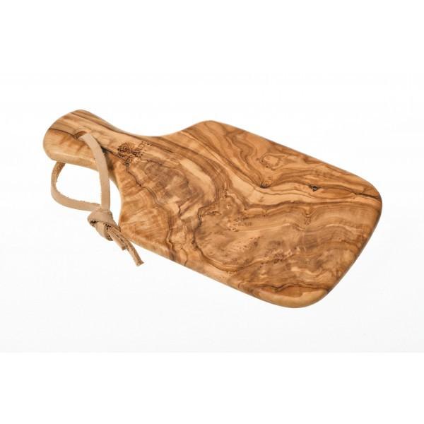 Planche à découper en bois d'olivier 21 cm