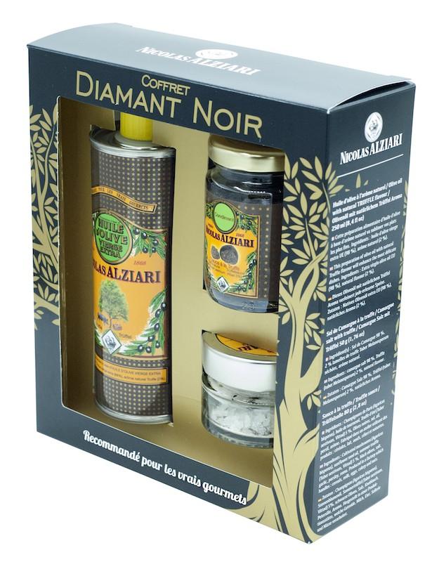 "Gift Box ""Mon Retour du Marché"" : Black Diamond"