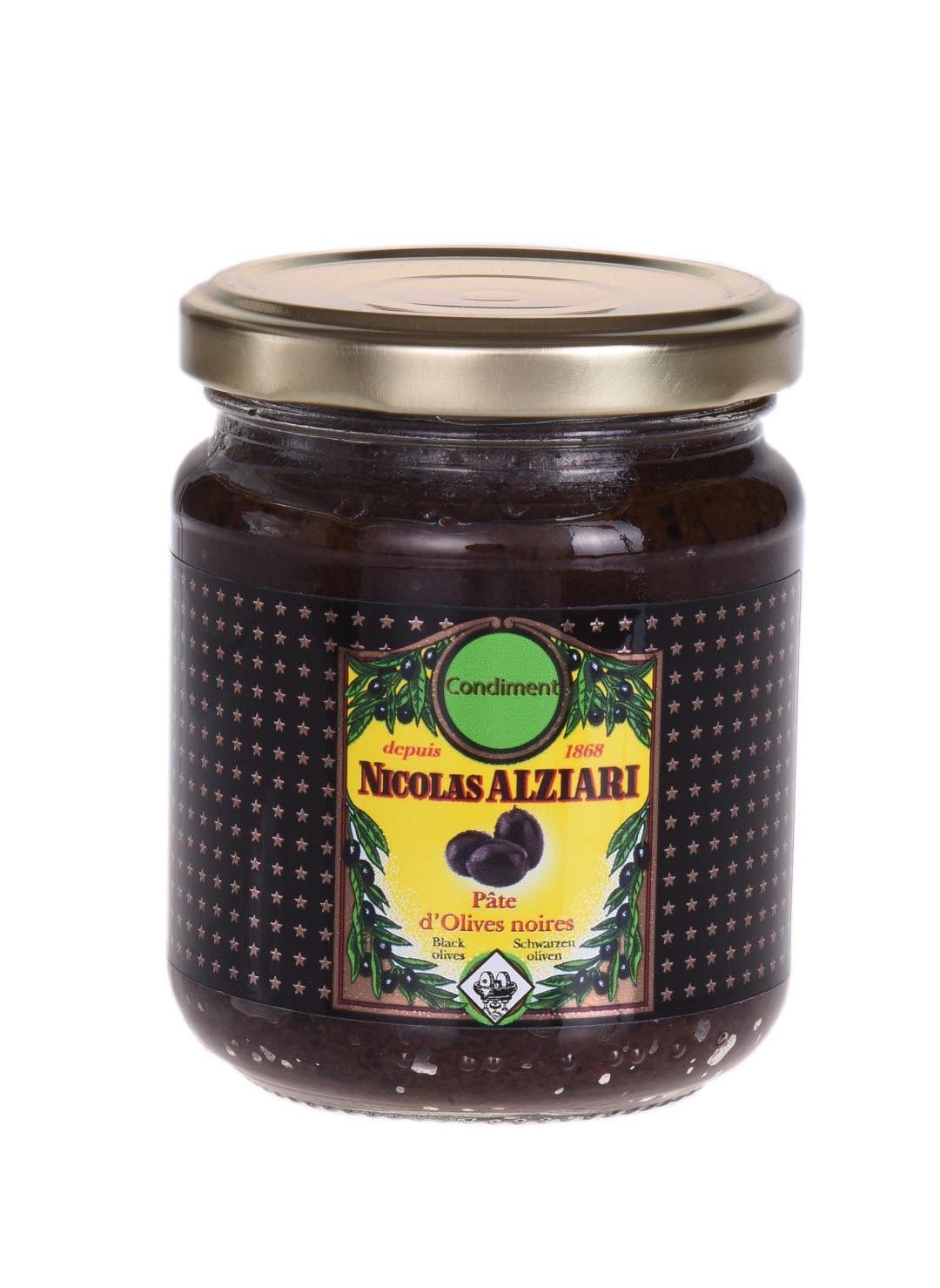 Black olive paste 180gr