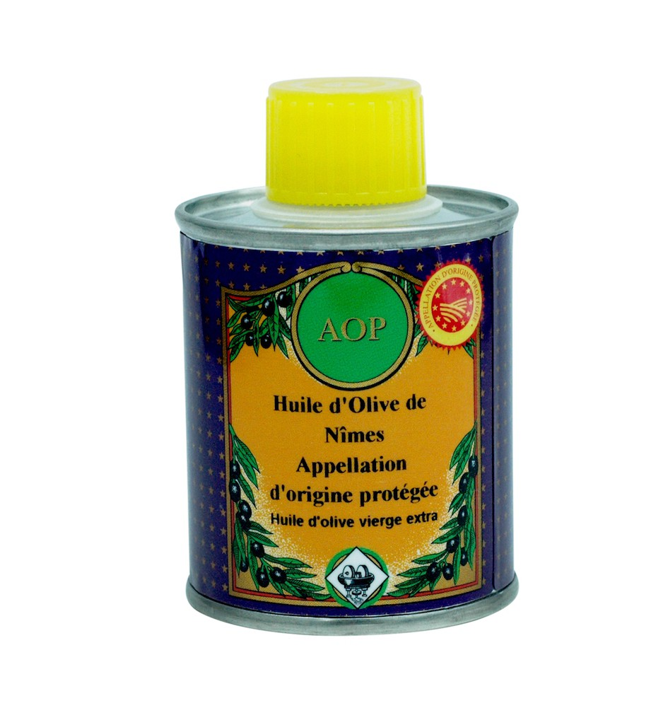PDO Nîmes Olive oil  100 ML (Protected Designation of Origin)