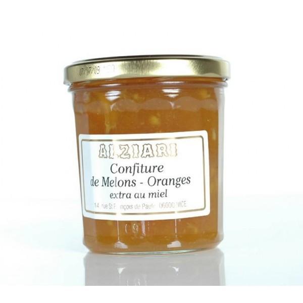 Melon jam with orange 375gr