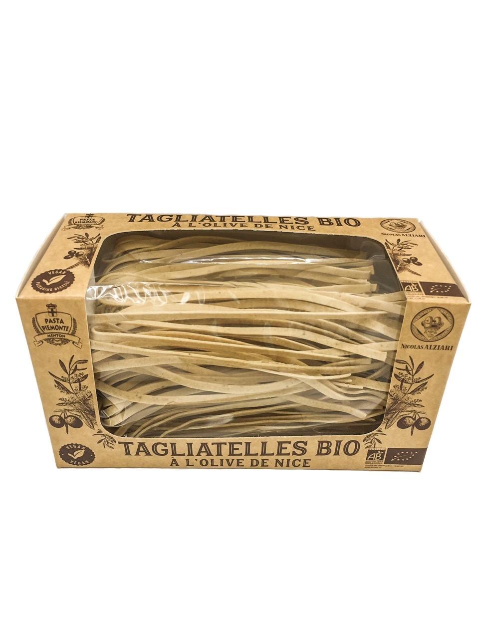 Tagliatelles Bio à l'olive de Nice 250 g