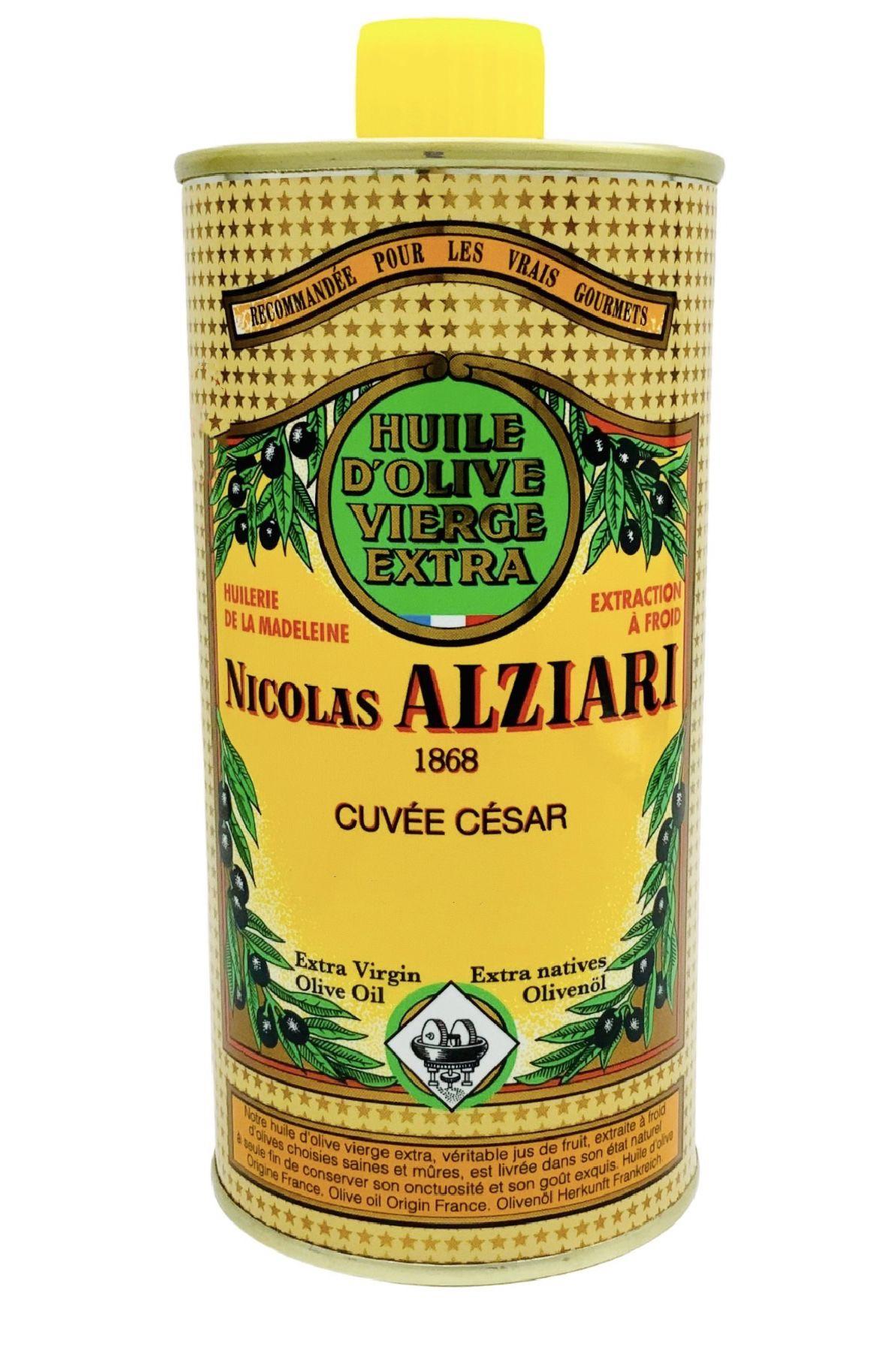 OLIVE OIL NICOLAS ALZIARI CUVÉE CESAR 500 ML