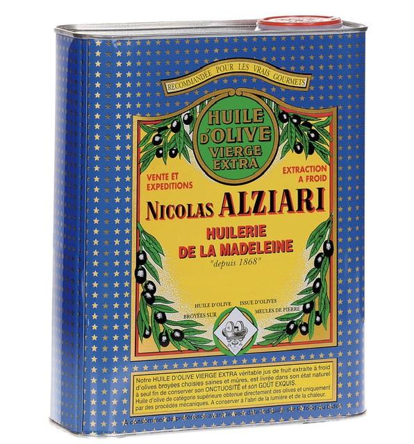 OLIVE OIL NICOLAS ALZIARI CUVÉE PRESTIGE 2 L