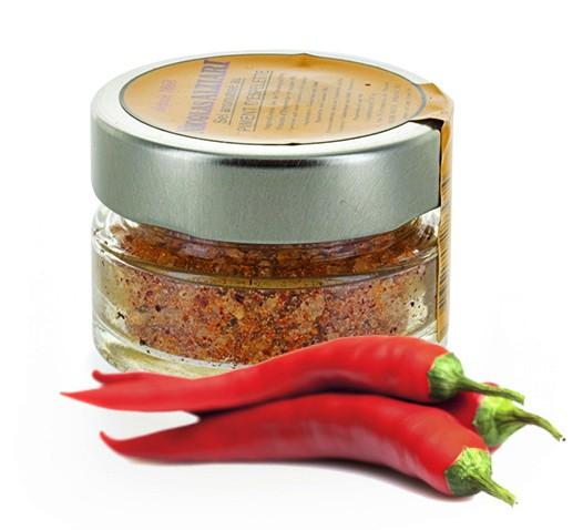 Camargue salt with Espelette Pepper 50gr