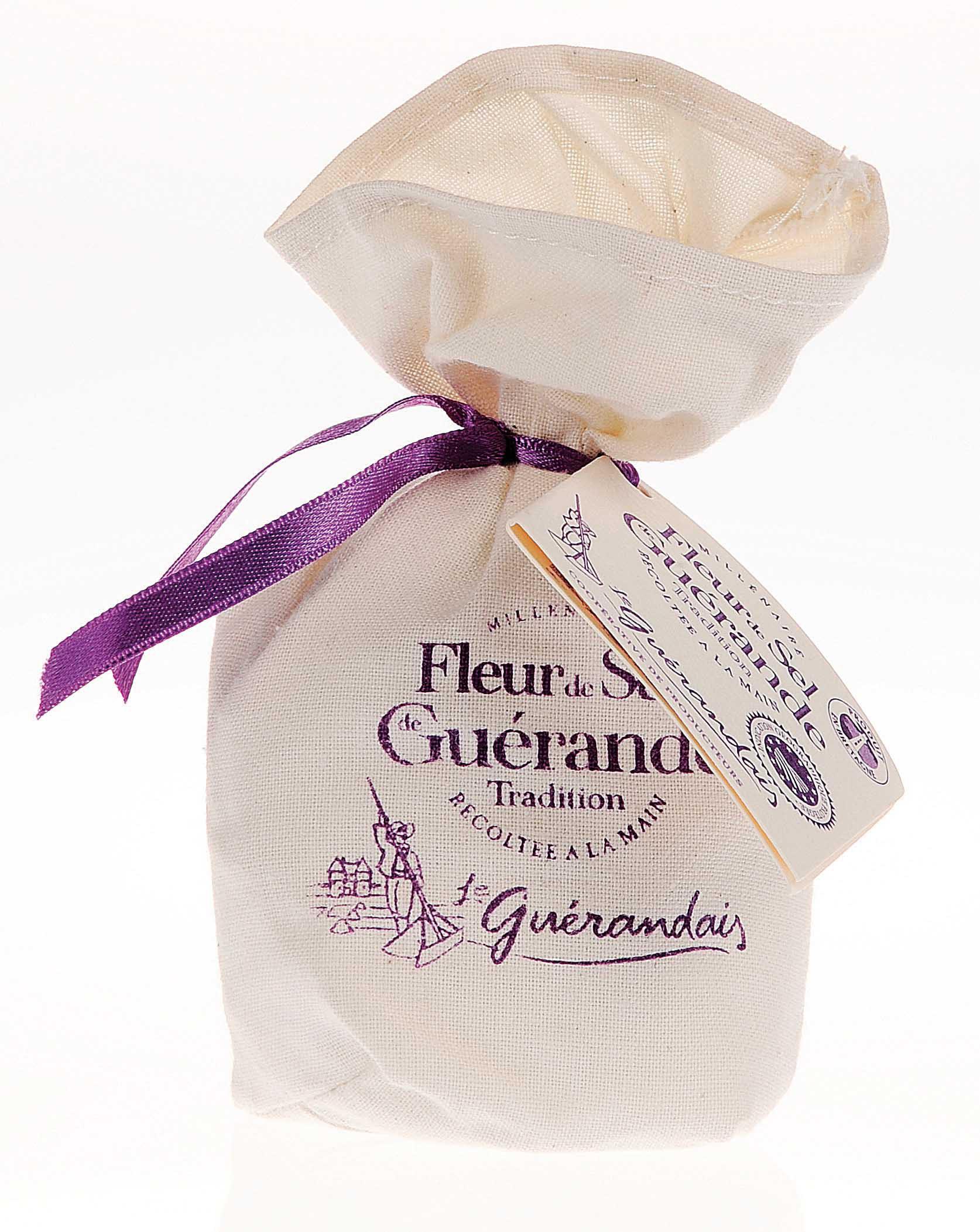 Fleur de sel of Guérande canvas 250 gr
