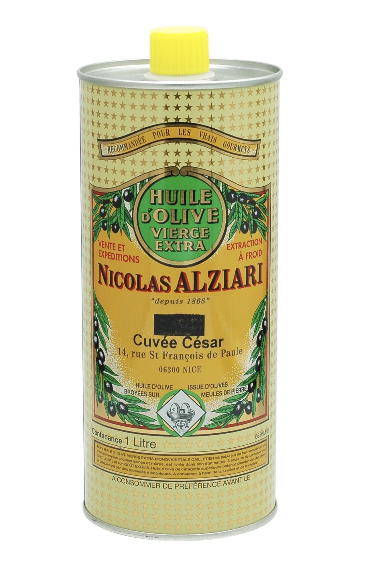 OLIVE OIL NICOLAS ALZIARI CUVÉE CESAR 1 L
