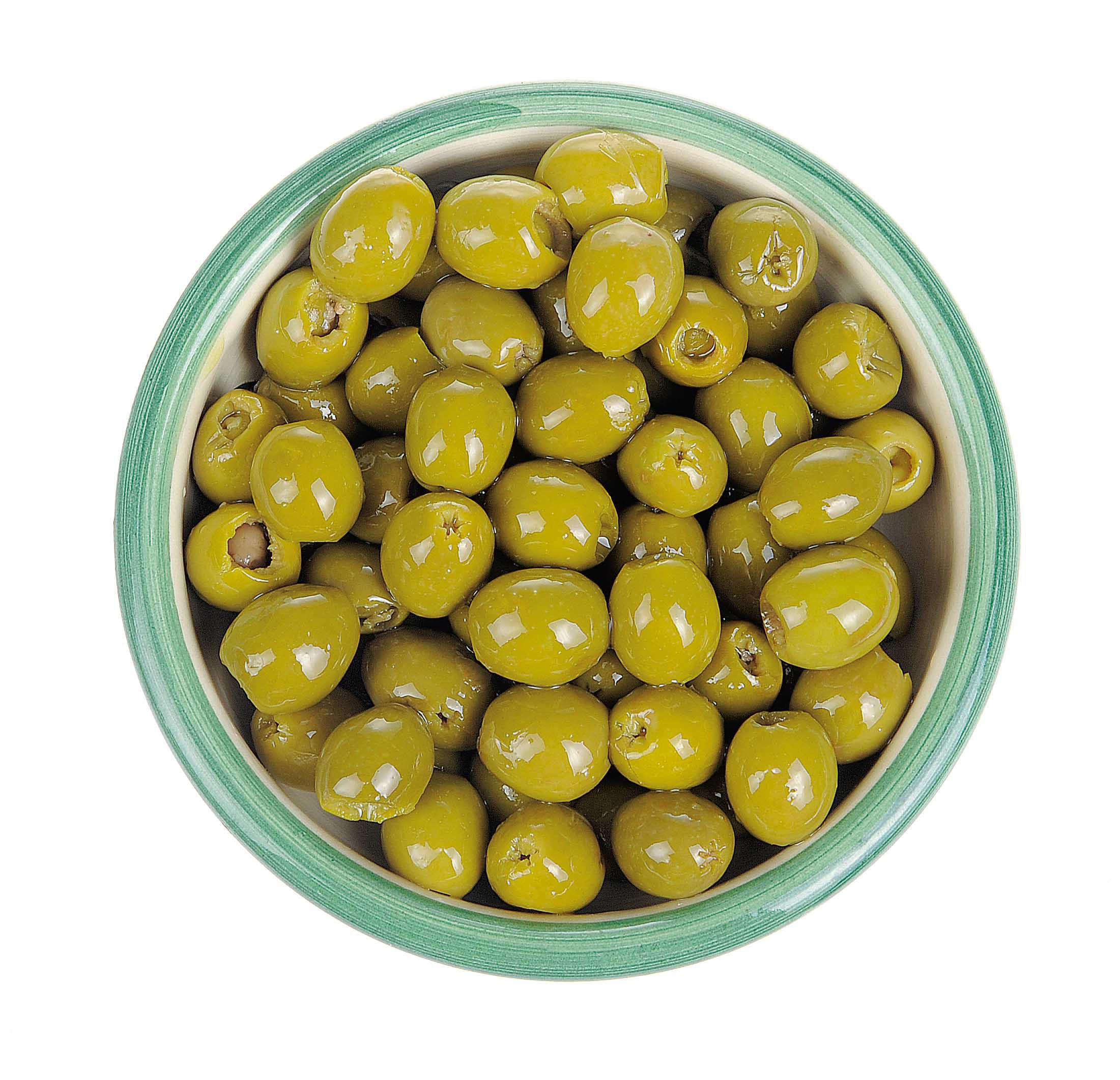 Olives filled with anchovy cream 125 gr