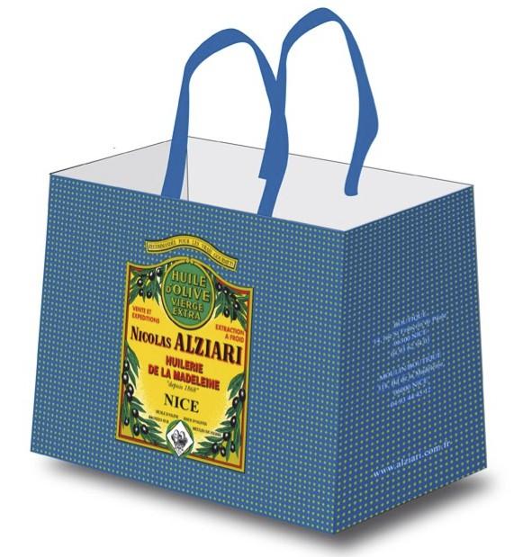 shopping bag Nicolas Alziari 1868