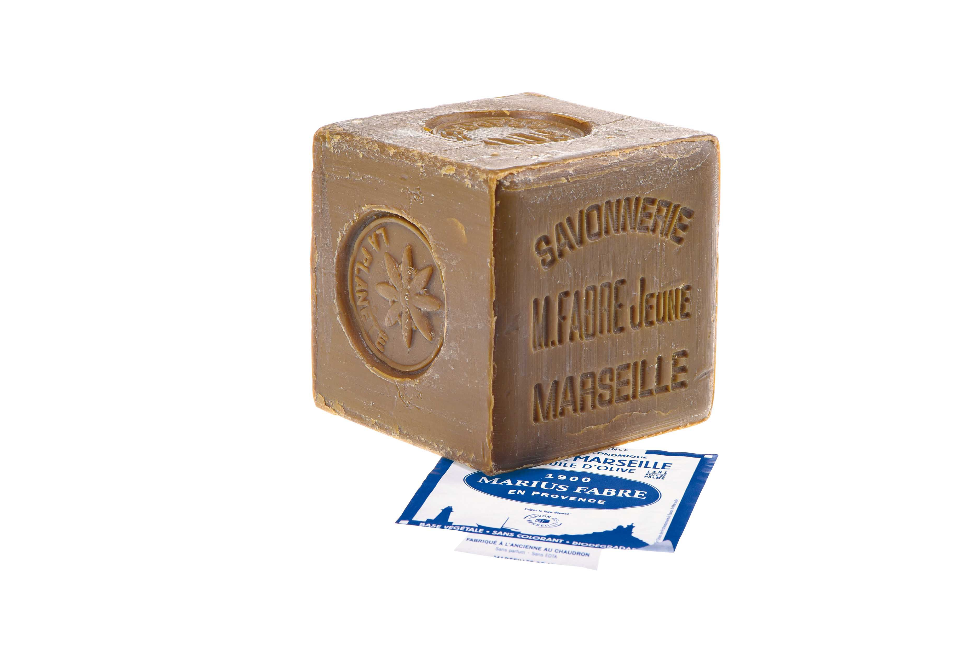 Marseille soap Marius Fabre with olive oil 600 gr