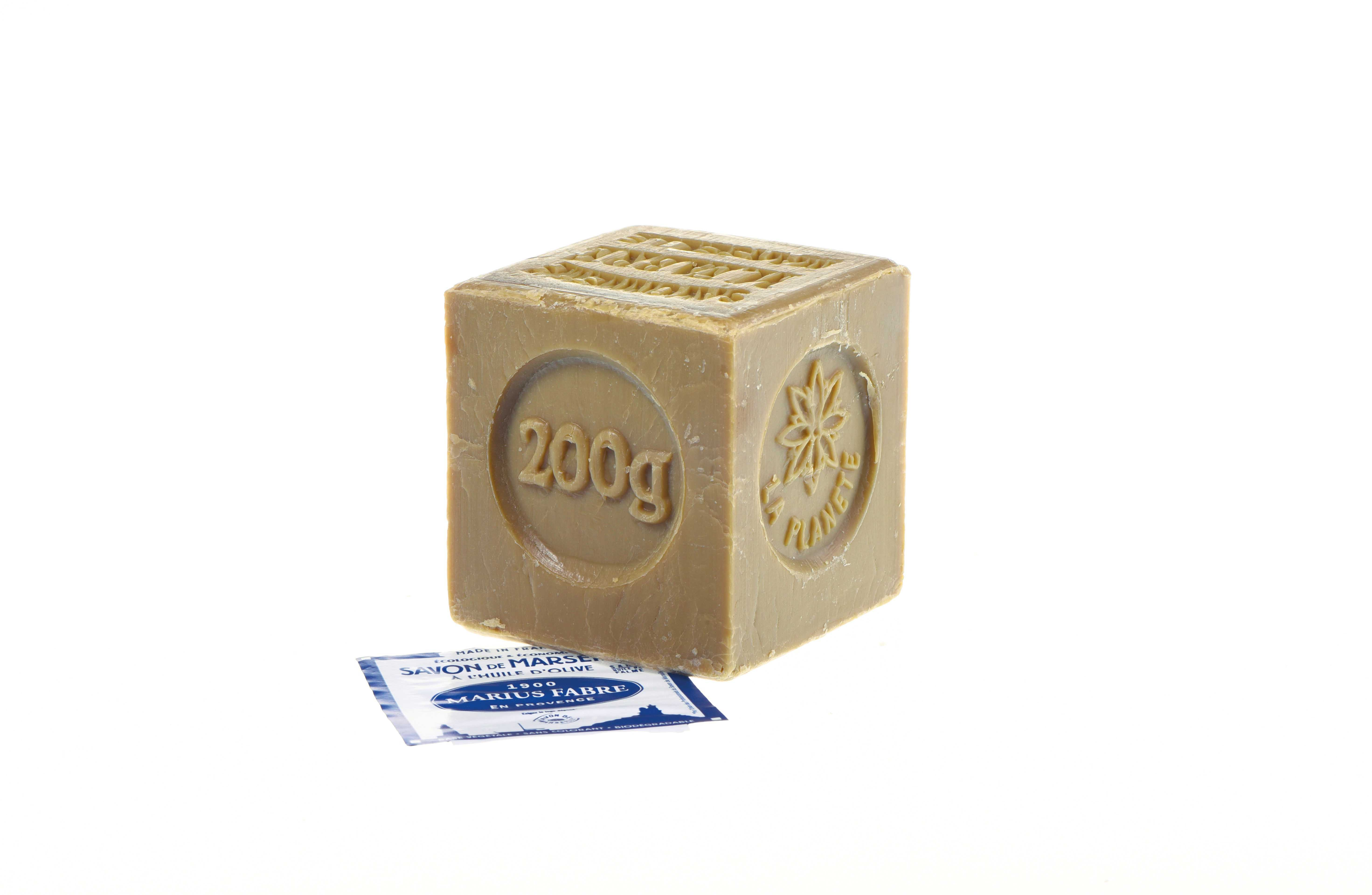 Marseille soap Marius Fabre with olive oil 200 gr