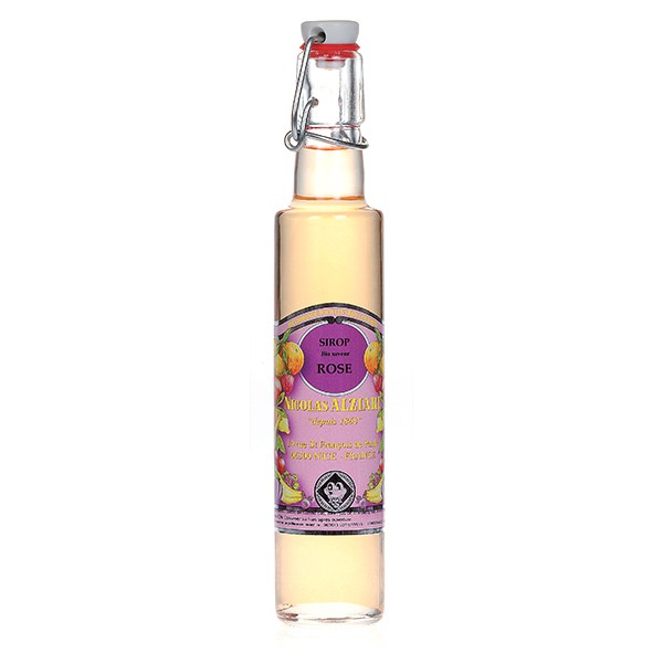 organic Rose syrup 25 cl
