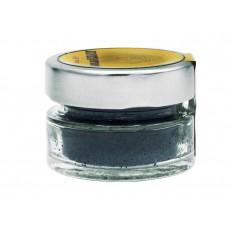 Broken dehydrated black olives in pot 25 gr