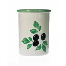 Pot à couverts 17 cm (poterie de vallauris)