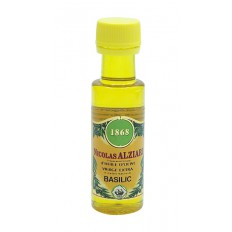 BASIL - FOOD PREPARATION BASED ON OLIVE OIL AND NATURAL AROMA OF BASIL 25 ML