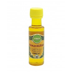 CHILI PEPPER - Food preparation based on olive oil and natural aroma of CHILI PEPPER 25 ML